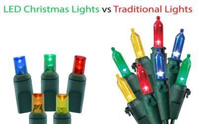 LED Lights vs. Traditional Christmas Lights