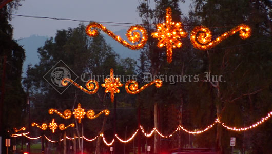 Commercial Christmas Decorations - Skylines