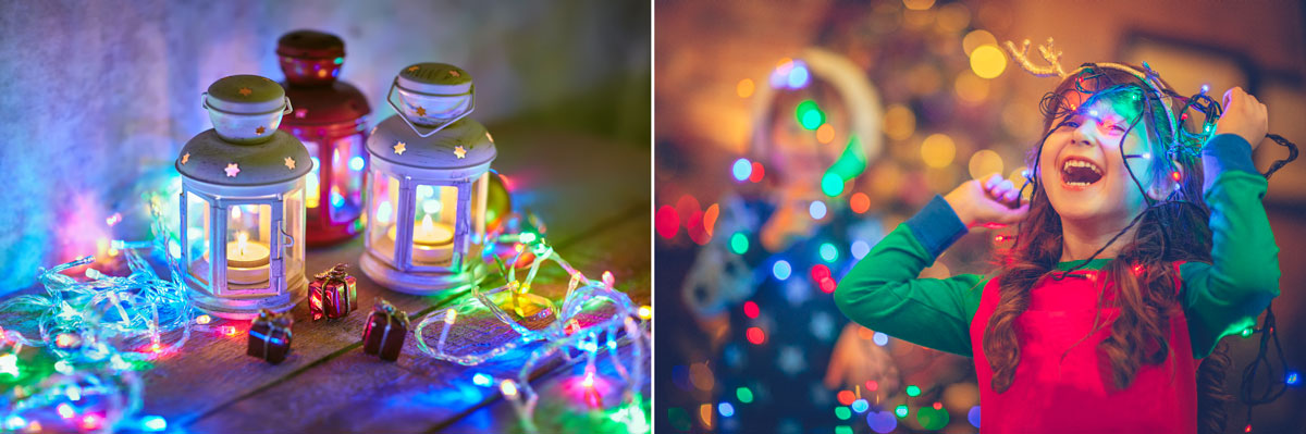 christmas bedroom lights for children