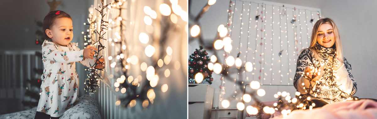christmas lights in kids rooms