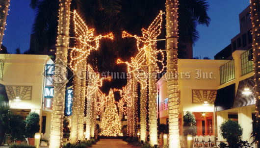 Pole Mount Christmas Decorations
