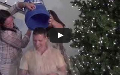 Christmas Designers' ALS Ice Bucket Challenge