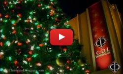Large Animated LED Outdoor Christmas Trees