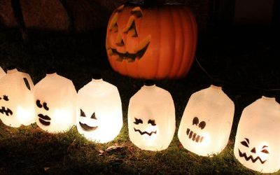 Halloween Craft, Lighting, & Decoration Ideas