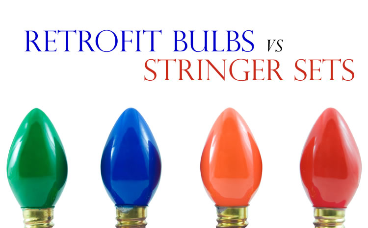 Retrofit bulbs vs Stringer sets