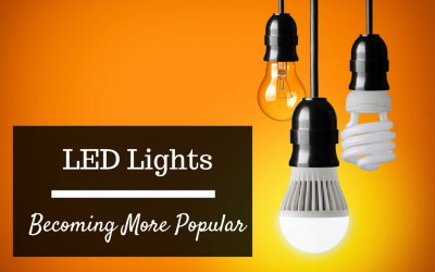 LED becoming more popular