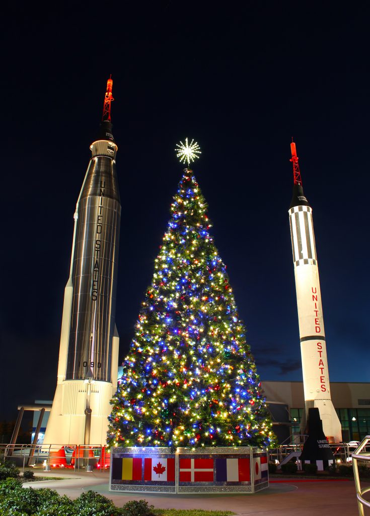 Rockets and Christmas Lights