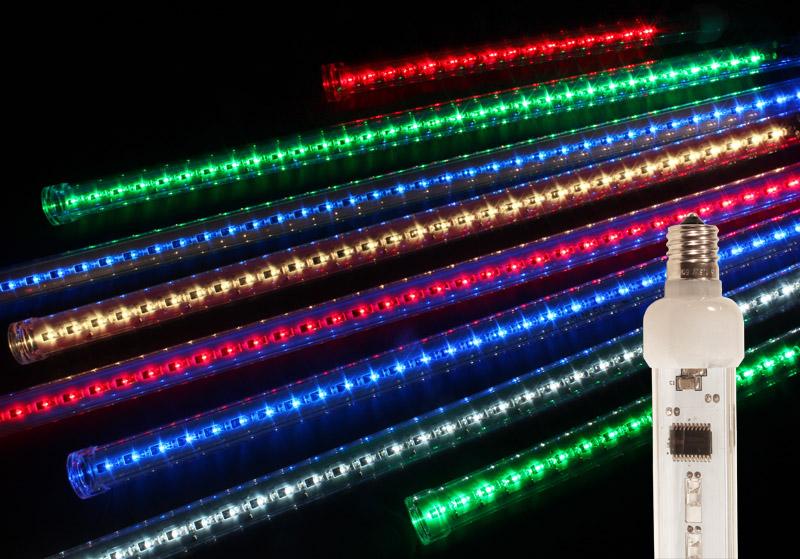 LED Snowfall Tubes
