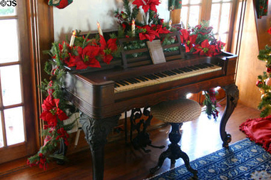 Garland on Piano