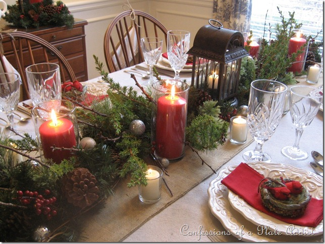 Dining Table Garland