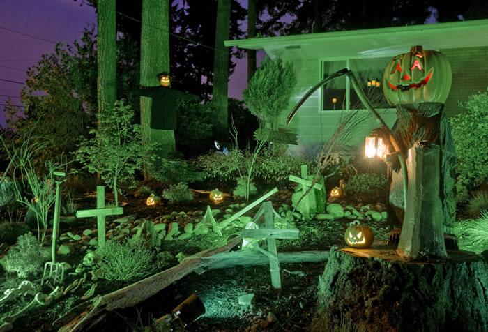 Pumpkin Graveyard