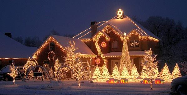 Christmas Lighting Style 1