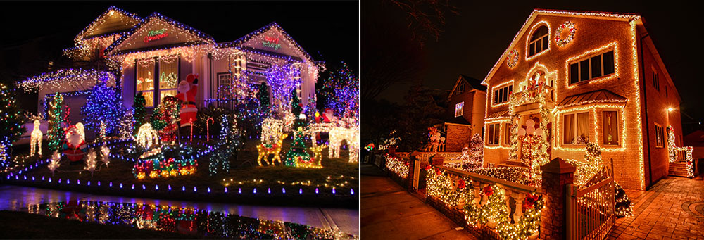 different christmas display ideas