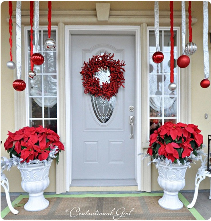 ... Christmas Front Porch Decorations