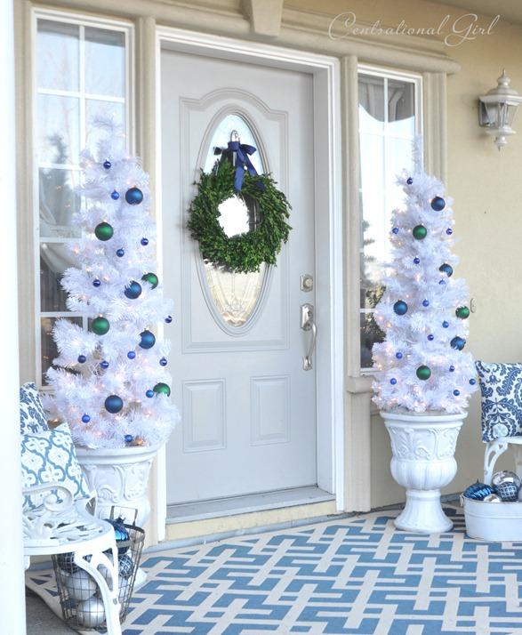 Blue & White Christmas