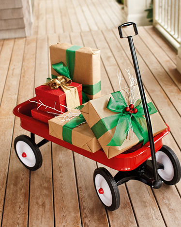 Wagon with Gifts