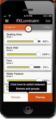 smartphone lighting controller