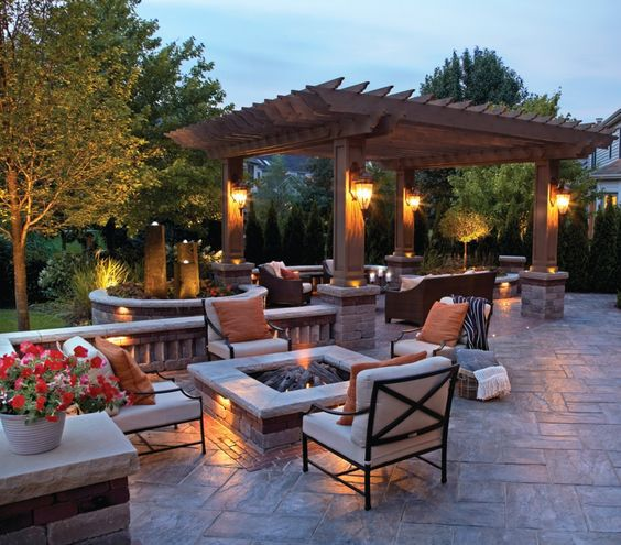 Patio Pergola And Deck Lighting Ideas And Pictures: 17 Ways To Light Up Your Pergola