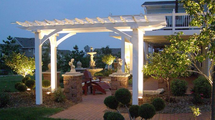 Landscape Up Lighting