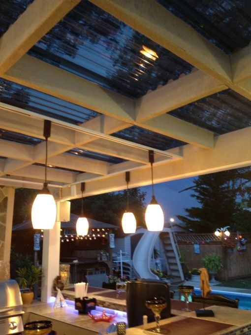 17 Ways To Light Up Your Pergola, Outdoor Hanging Lights For Pergola