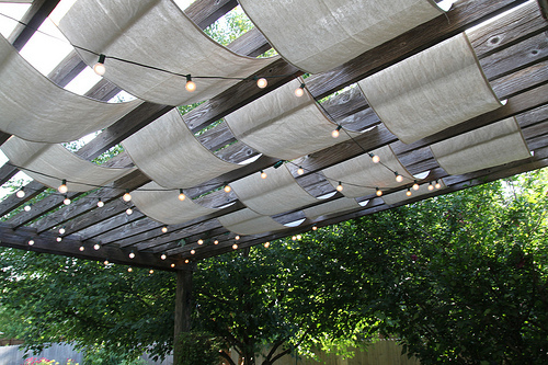 Deck Lights Canopy
