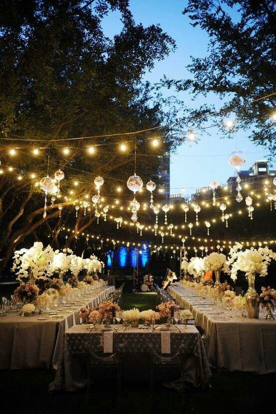 Globe String lights for Wedding
