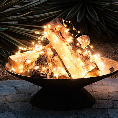Firepit Lights without Flame