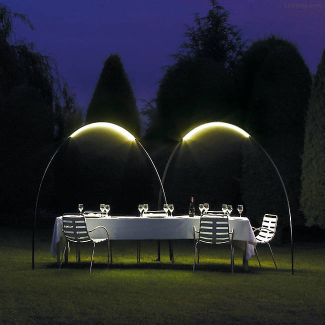 Halley Arching Outdoor Light