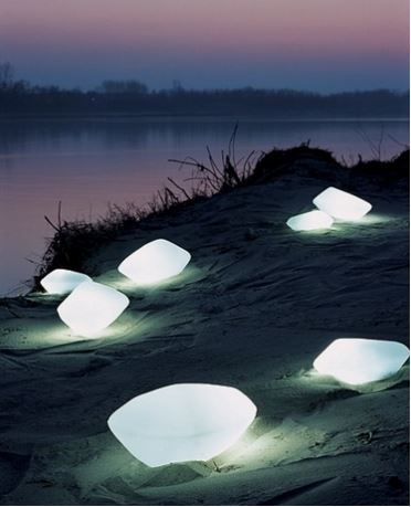 Oluce Stone Outdoor Lamps