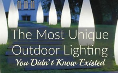 The Most Unique Outdoor Lighting You Didn't Know Existed
