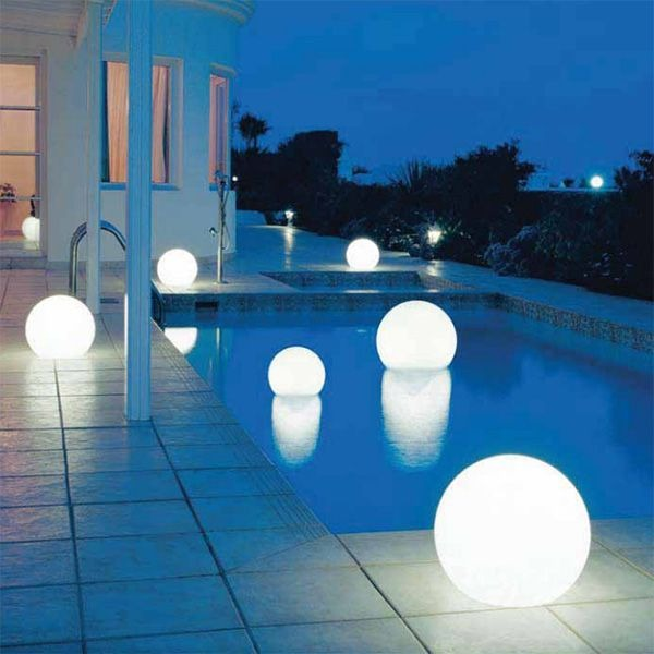 Floating Light Globes