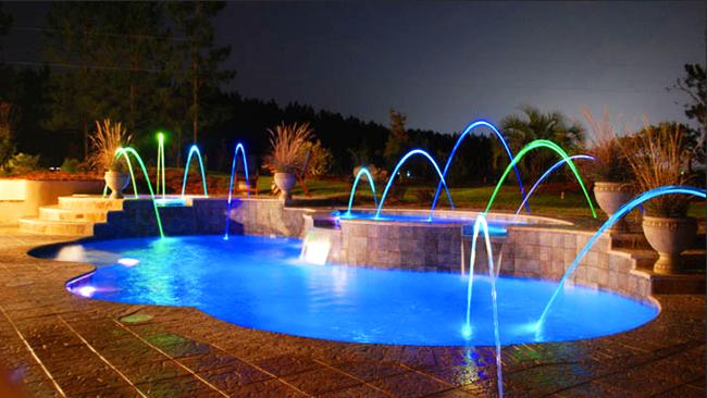 Fountain Pool Lighting