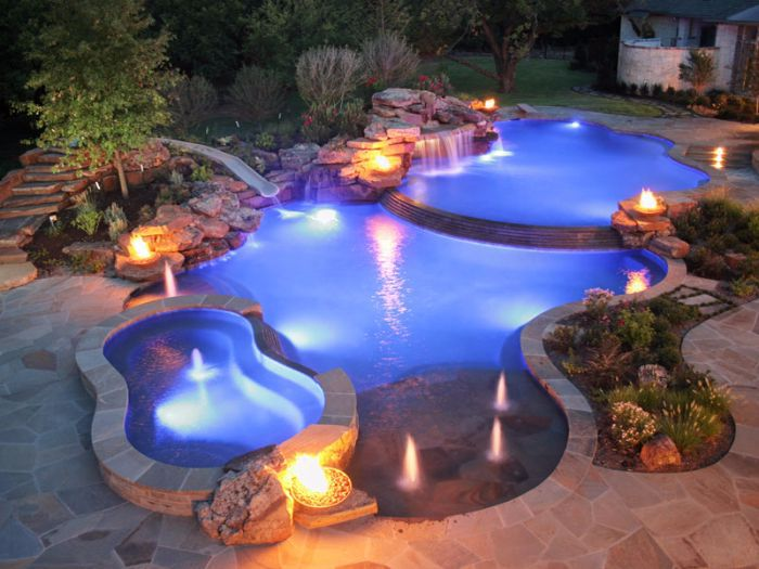 In-Pool and Landscape Lighting