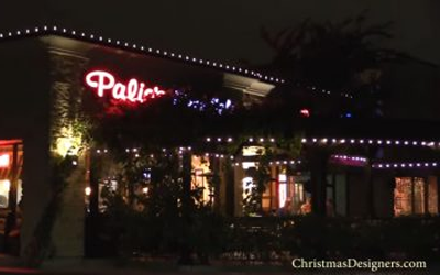 Installing Year-Round LED Christmas Lighting for Outdoor Dining Areas, Backyard & Patio