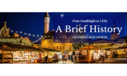 From Candlelight to LEDs: A Brief History of Christmas Lights