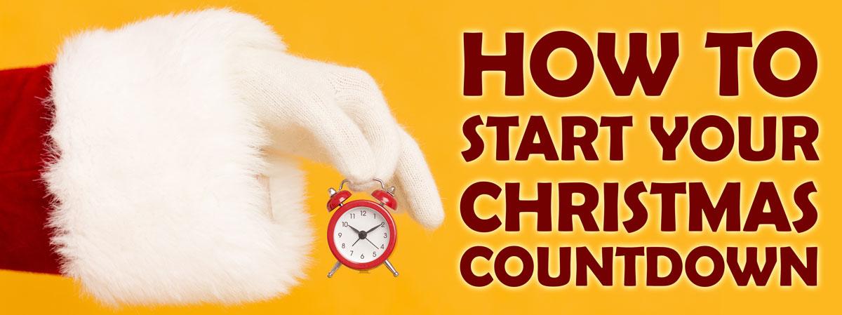 start your Christmas countdown