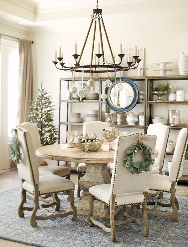 Chair Christmas Wreaths