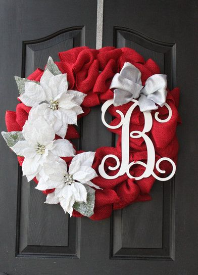 monogrammed-christmas-wreath-her