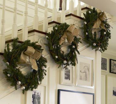 Stairway Wreaths