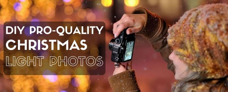DIY Professional Quality Christmas Light Photos
