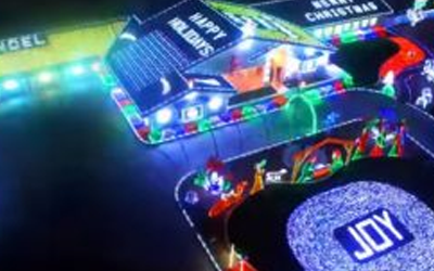 The 30 Wildest Home Christmas Light Displays