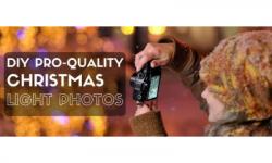 DIY Professional-Quality Christmas Light Photos