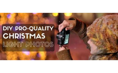 DIY Professional-Quality Christmas Light Photos