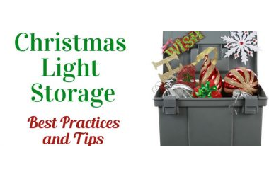 Christmas Light Storage: Best Practices and Tips