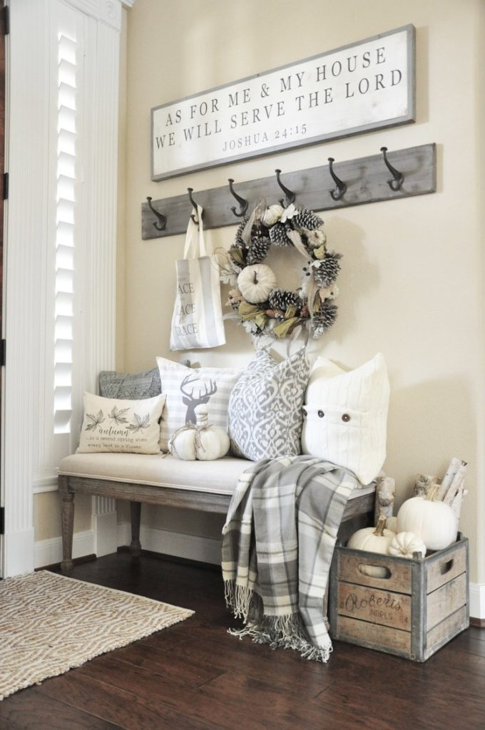 Winter Mudroom