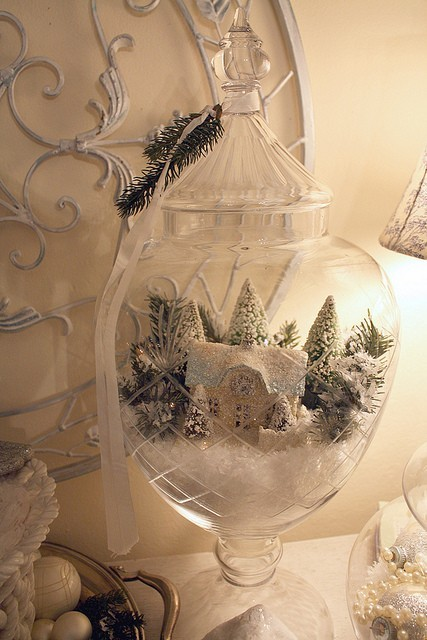 Winter Scene in a Vase