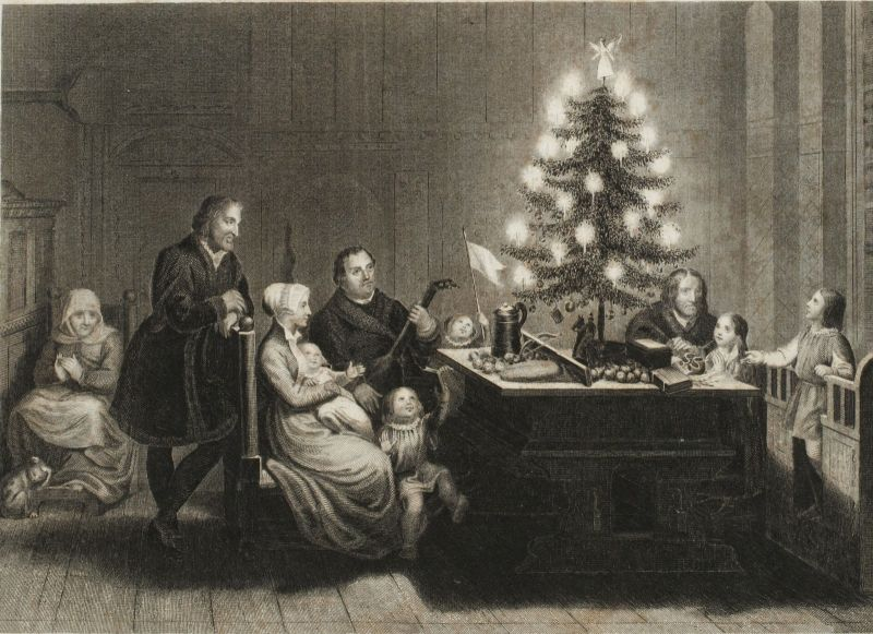 1660: Candle-lit Christmas trees are born - From Edison To LED - The Complete History Of Christmas Lights