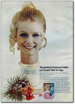 Scotch Hair Set Tape