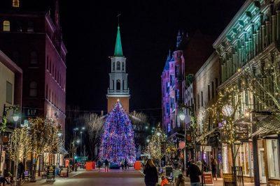 Church Street Tree Lighting - Vermont