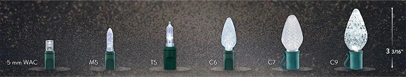 Bulb Sizes Chart